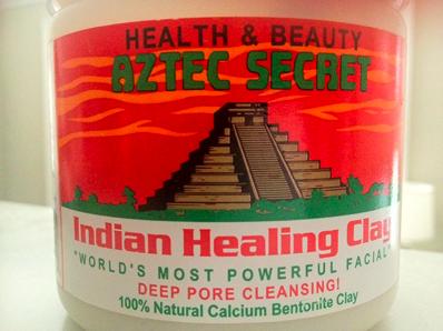 Aztec Healing Clay | Ooh, my favorite!