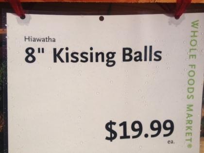 kissing balls